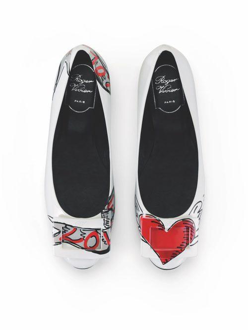 Bailarinas 'Gommette' de Roger Vivier colección San Valentín 2017