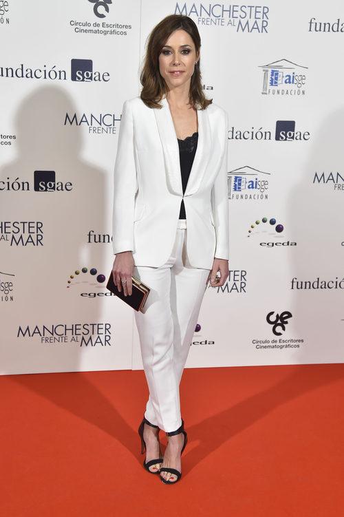 Ruth Díaz con un look bicolor en los Premios del Círculo de Escritores Cinematográficos