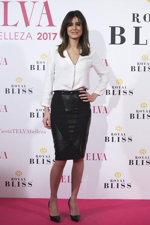 Isabel Jiménez con un look 'working girl' en los Premios Telva Belleza 2017