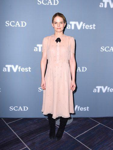 Jennifer Morrison con un look vintage en el aTVFest 2017