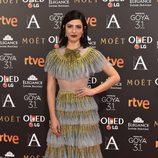 Bárbara Lennie con un vetido de Gucci en los Premios Goya 2017