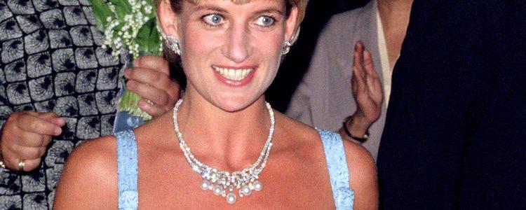 La Princesa Diana de Gales en el Royal Albert Hall en 1997