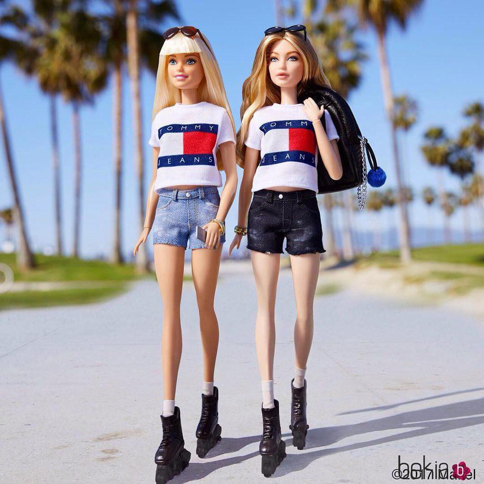 7199d3ea5932e Gigi Hadid se convierte en Barbie con ropa de Tommy Hilfiger - Foto ...
