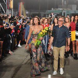Desfile 'Tommyland' de Tommy Hilfiger y Gigi Hadid colección primavera/verano 2017