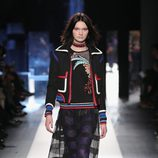 Falda de tul de Desigual otoño/invierno 2017/2018 en la New York Fashion Week