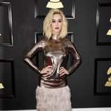 Katy Perry con un vestido de Tom Ford en los Grammy 2017