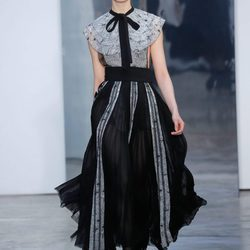 Desfile de Carolina Herrera otoño/invierno 2017/2018 en la New York Fashion Week