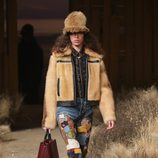 Vaquero con parches de Coach otoño/invierno 2017/2018 en la New York Fashion Week