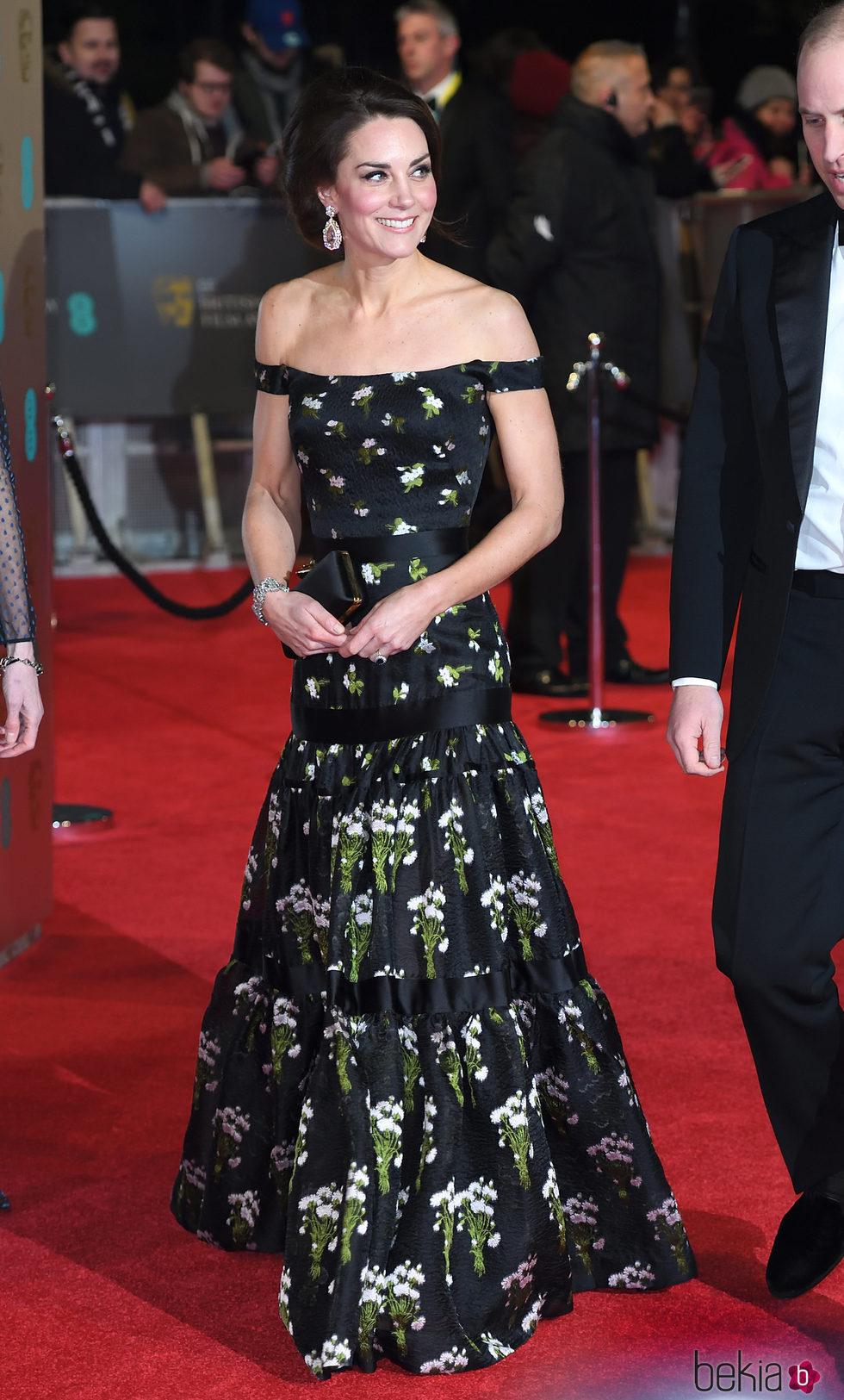 Kate Middleton Con Un Vestido De Alexander Mcqueen En Los