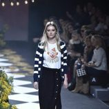 Falda midi de Jorge Vázquez otoño/invierno 2017/2018 en la Madrid Fashion Week