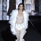 Madeleine Hjört en el desfile de Duyos otoño/invierno 2017/2018 en la Madrid Fashion Week