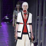 Falda plisada de Gucci otoño/invierno 2017/2018 en la Milán Fashion Week