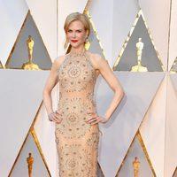 Nicole Kidman con un vestido oriental en los Premios Oscar 2017
