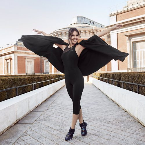Cristina Pedroche con el mono 'Explosive Bodysuit' primavera/verano 2017 de Puma