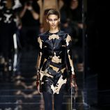 Camisa animal print de Balmain otoño/invierno 2017/2018 en la Paris Fashion Week