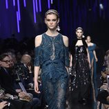 Vestido transparente de Elie Saab de la colección otoño/invierno 2017/2018 en París Fashion Week