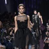 Vestido corto de Elie Saab de la colección otoño/invierno 2017/2018 en París Fashion Week