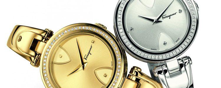 Relojes metalizados de Salvatore Ferragamo en su colección 'Gilio'