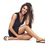 Cristina Pedroche con un vestido negro de Ipanema para verano 2017