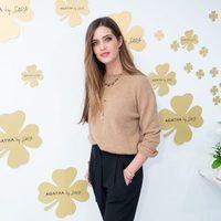 Sara Carbonero en la presentación de la nueva colección de Agatha París