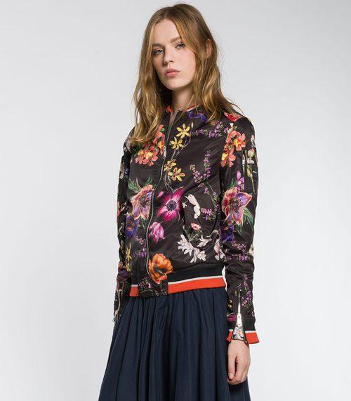 Bomber de flores de Replay primavera/verano 2017