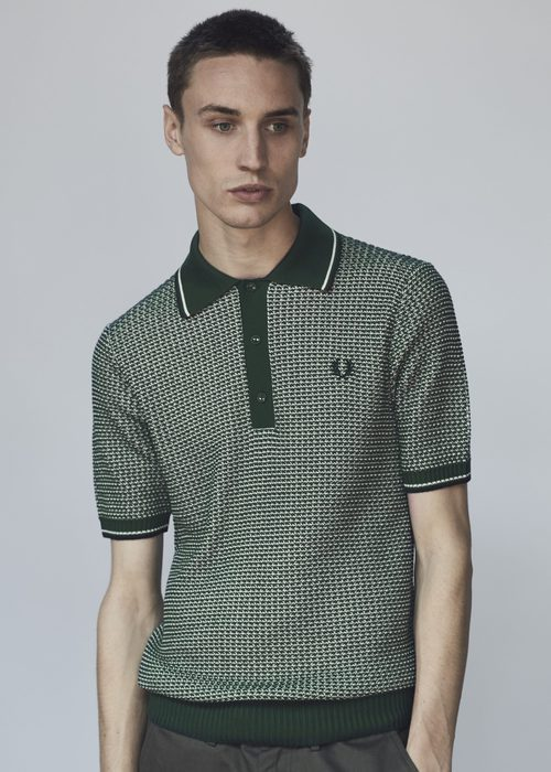 Polo estampado de Fred Perry primavera/verano 2017