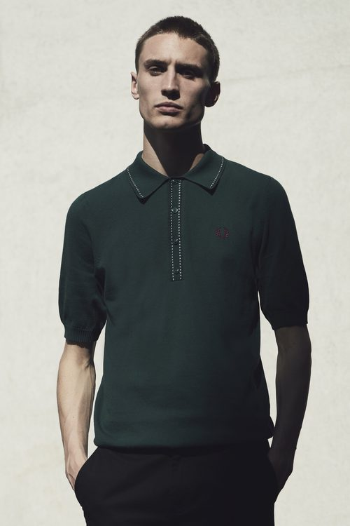 Polo de color verde de Fred Perry primavera/verano 2017