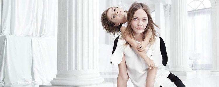 Vestuario bicolor de la nueva colección de Victoria Beckham para Target