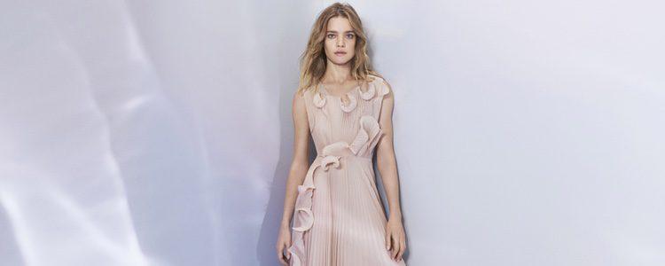Vestido plisado de la colección 'Conscious Exclusive 2017' de H&M