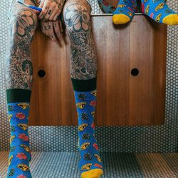 Colección primavera/verano 2017 de Happy Socks y la firma BBC de Pharrell Williams