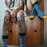 Calcetines de colores de la primavera/verano 2017 de Happy Socks con la firma de Pharrell Williams