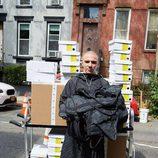 Rocco Ritchie como imagen de la colección de Alexander Wang para Adidas Originals