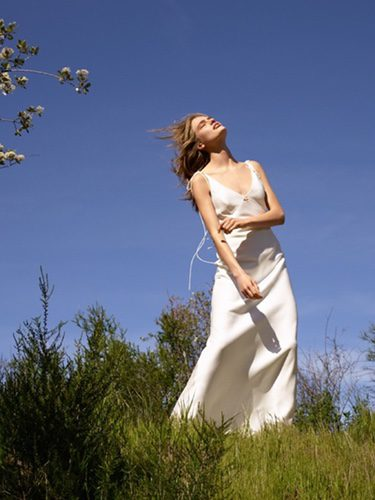 Vestido de novia blanco de Topshop primavera/verano 2017