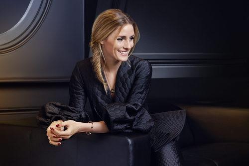 Olivia Palermo con la nueva joyería de Piaget primavera/verano 2017