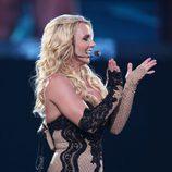 Britney Spears, muy ajustada en un concierto
