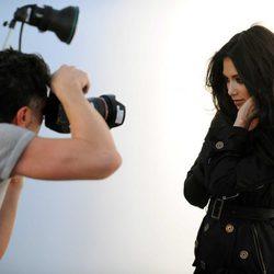Nicole Scherzinger posa como imagen de la nueva campaña invierno 2012 de London Fog