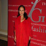 María Cornejo con 'total look' rojo