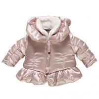 Abrigo rosa brillante de la firma de bebé Chicco