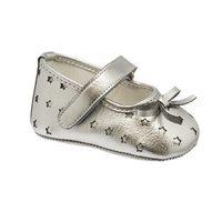 Zapato plateado de la colección de bebé Chicco