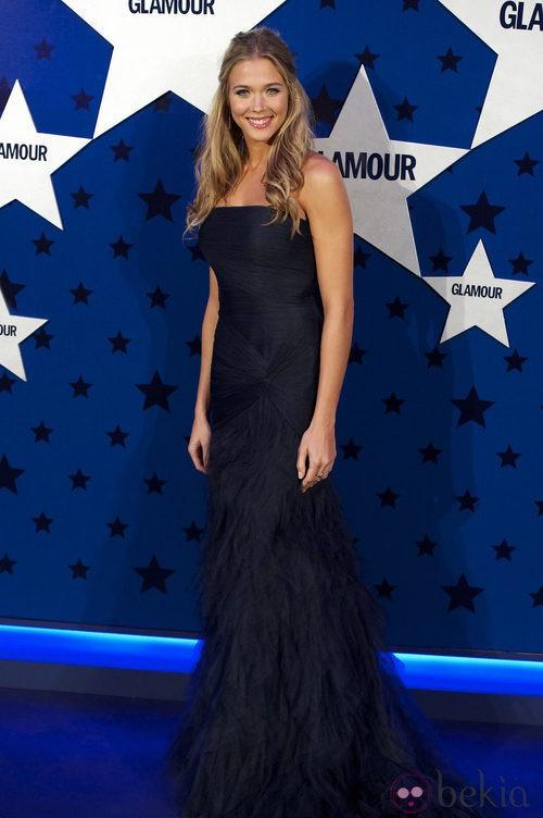 Look de Patricia Montero en los Premios Top Glamour 2011