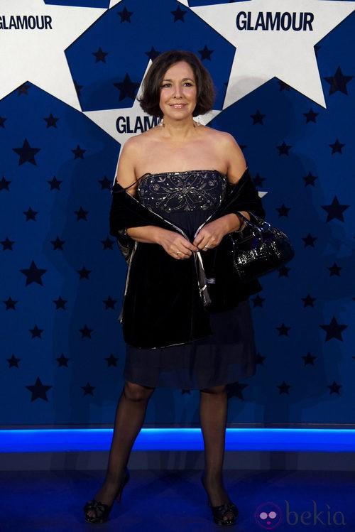 Look de Isabel Gemio en los Premios Top Glamour 2011