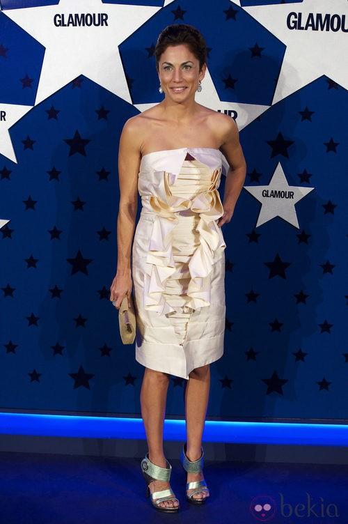 Look de Toni Acosta en los Premios Top Glamour 2011
