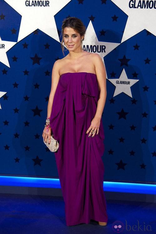 Look de Elena Tablada en los Premios Top Glamour 2011