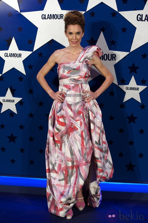 Look de Blanca Cuesta en los Premios Top Glamour 2011