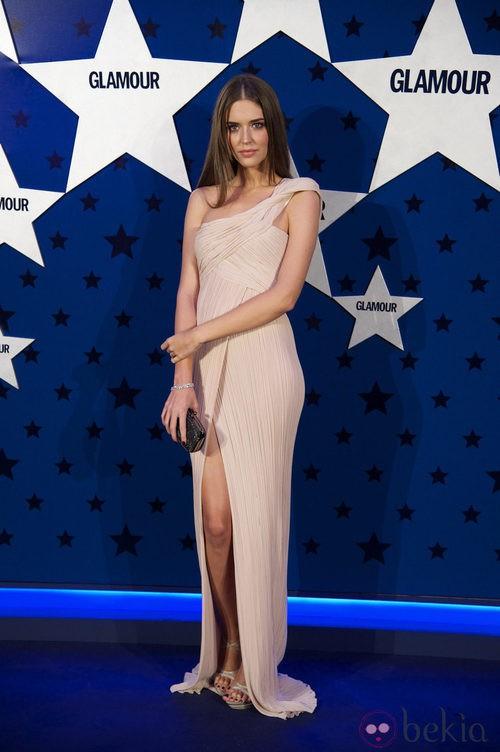 Look de Clara Alonso en los Premios Top Glamour 2011