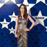 Look de Tali Lennox en los Premios Top Glamour 2011