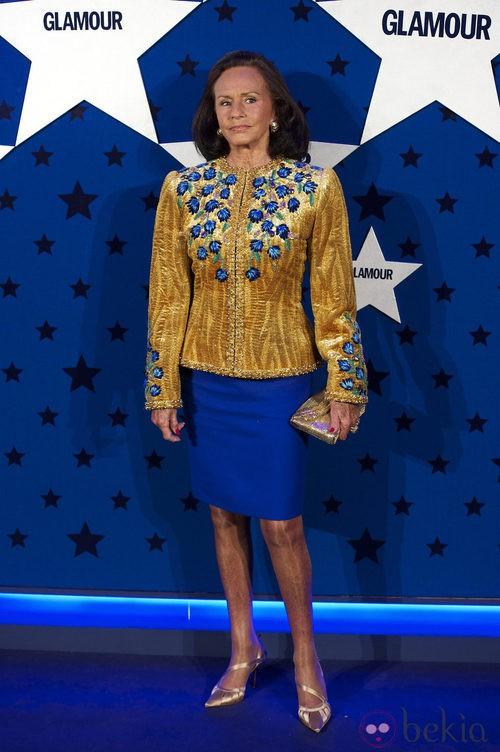 Look de Sonsoles Diez de Rivera en los Premios Top Glamour 2011
