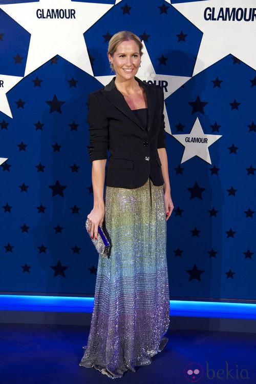 Look de Fiona Ferrer en los Premios Top Glamour 2011