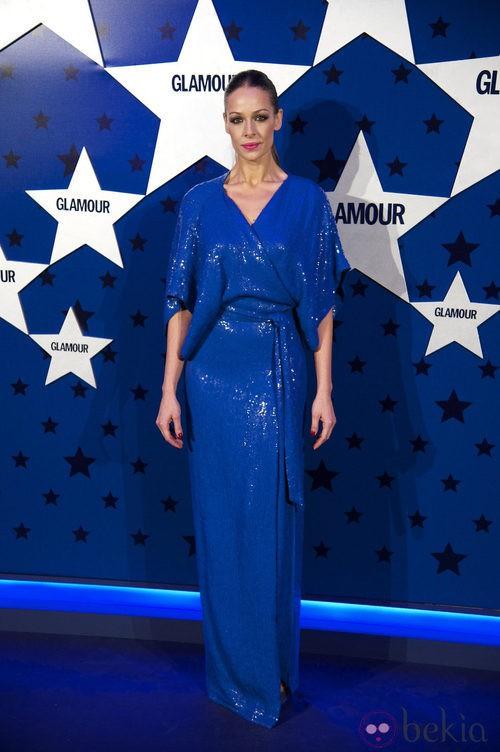 Look de Eva González en los Premios Top Glamour 2011