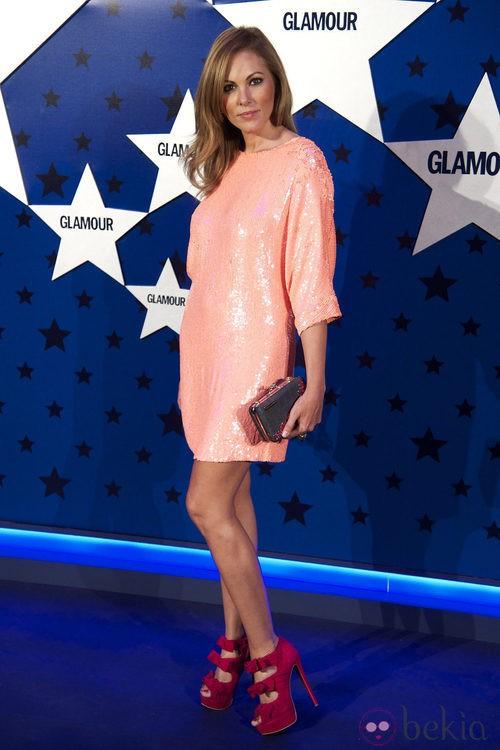 Look de Raquel Rodríguez en los Premios Top Glamour 2011